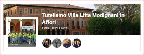 Tuteliamo Villa Litta Modignani in Affori